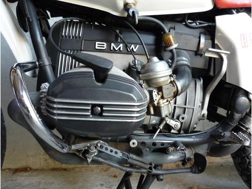 BMW R80 G/S motore