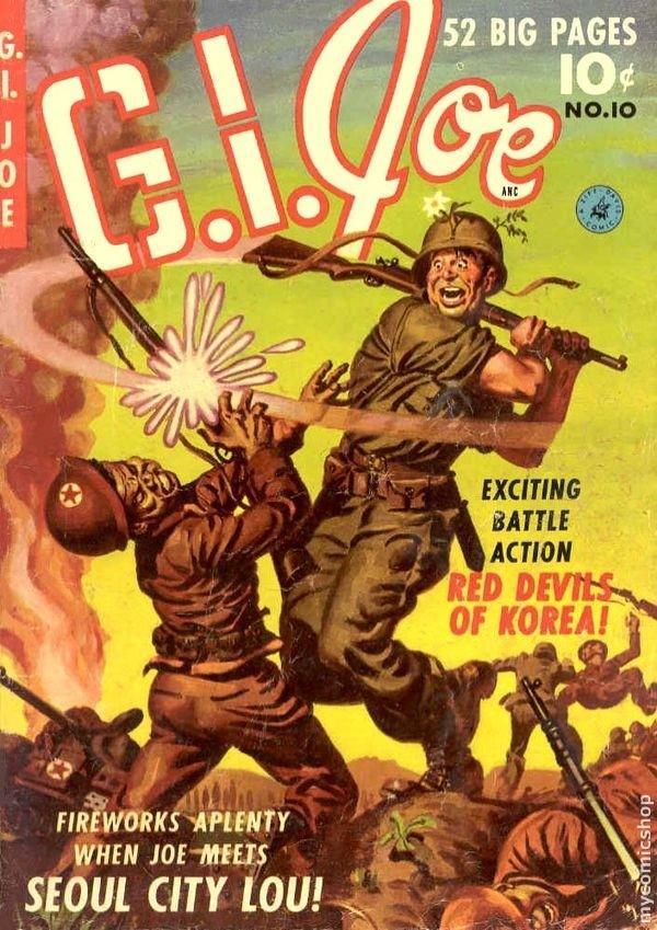g.i. joe fumetto anni 50
