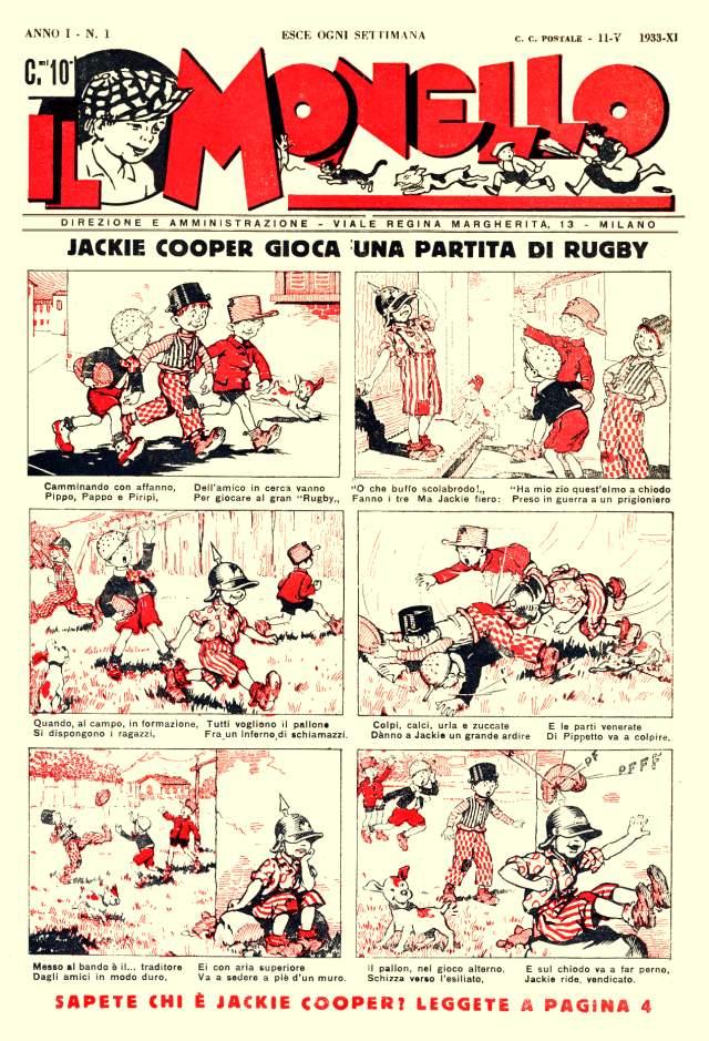 il monello 1933 primo numero