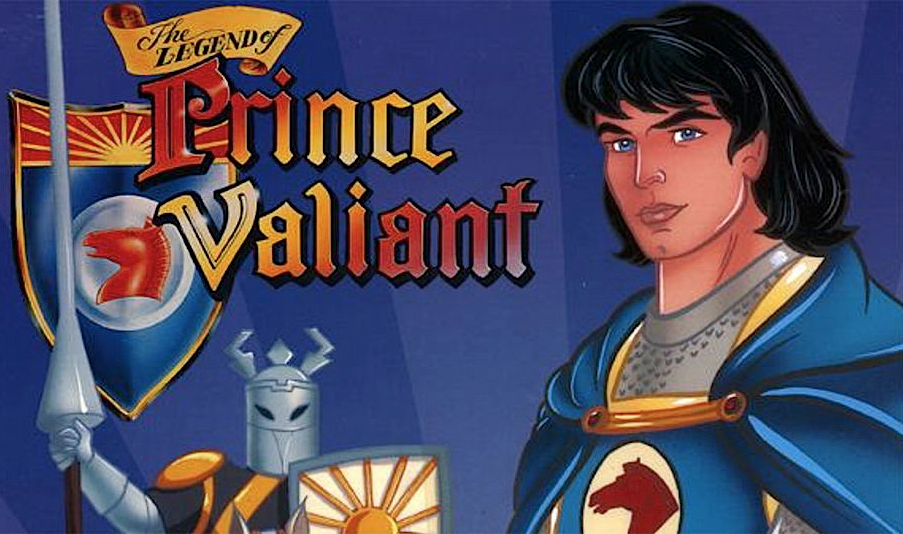 Principe valiant anime cartoni curiosando anni video