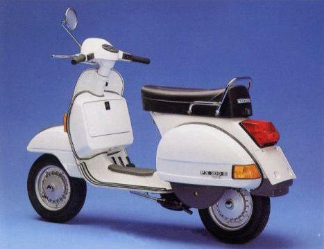 VESPA P 125 X /  P 200 E –  (1977/1984)