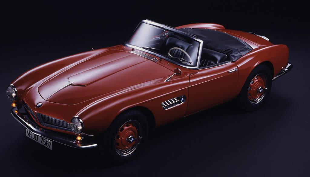 Bmw 507 convertibile 1955