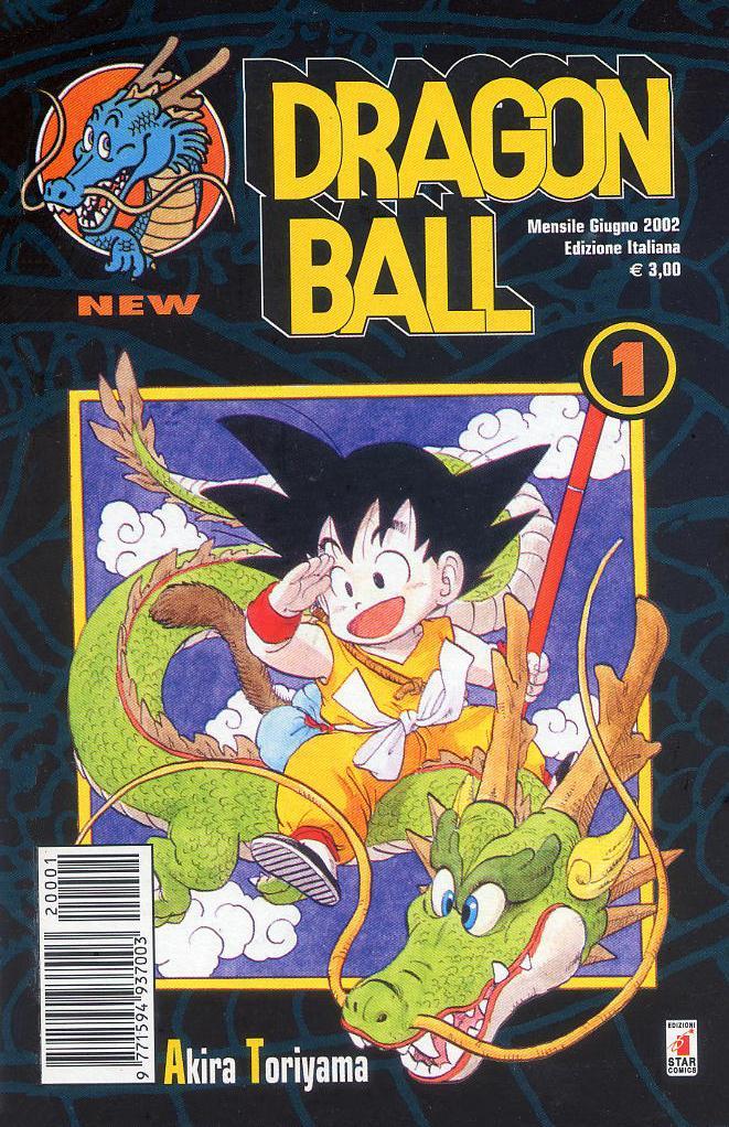 dragon ball numero 1 star comics