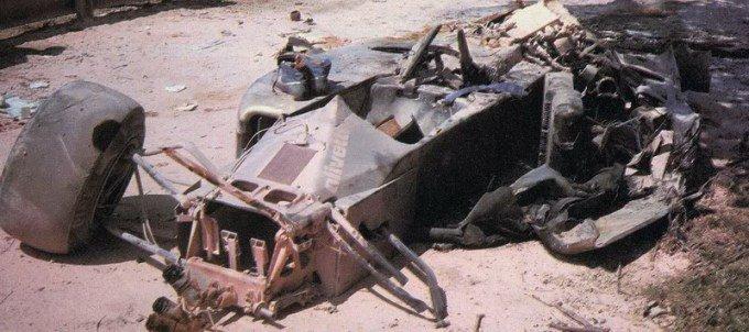 elio de angelis morte crash incidente