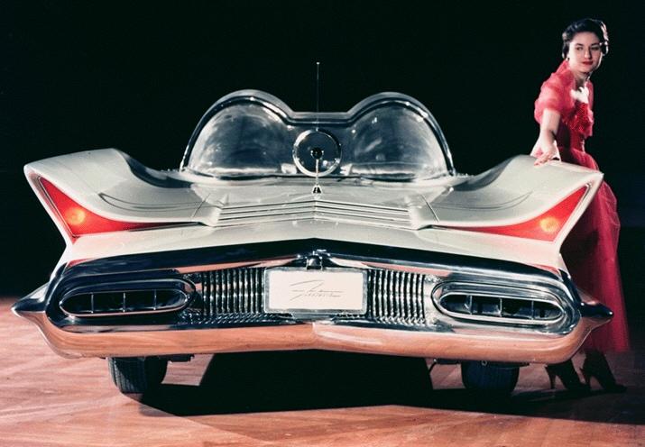 lincoln futura batman auto 1966