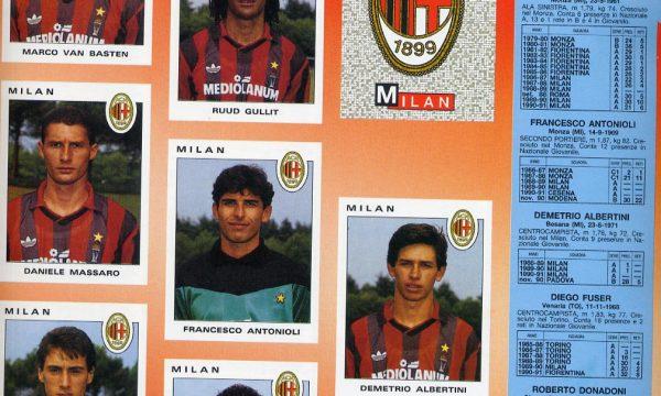 CAMPIONATO CALCIO 91/92 – (Milan) –
