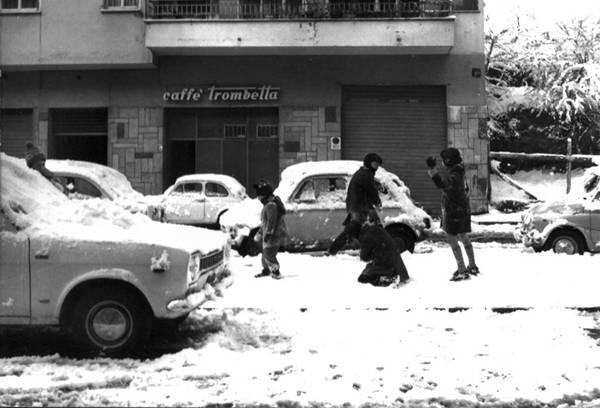 ondata di freddo 1971 ghiaccio e nevicata