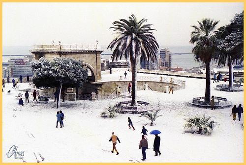Nevicata del 1985 Cagliari