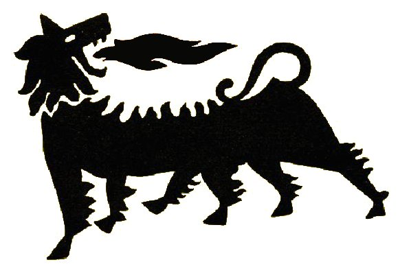 Supercortemaggiore_logo_benzina del 1953