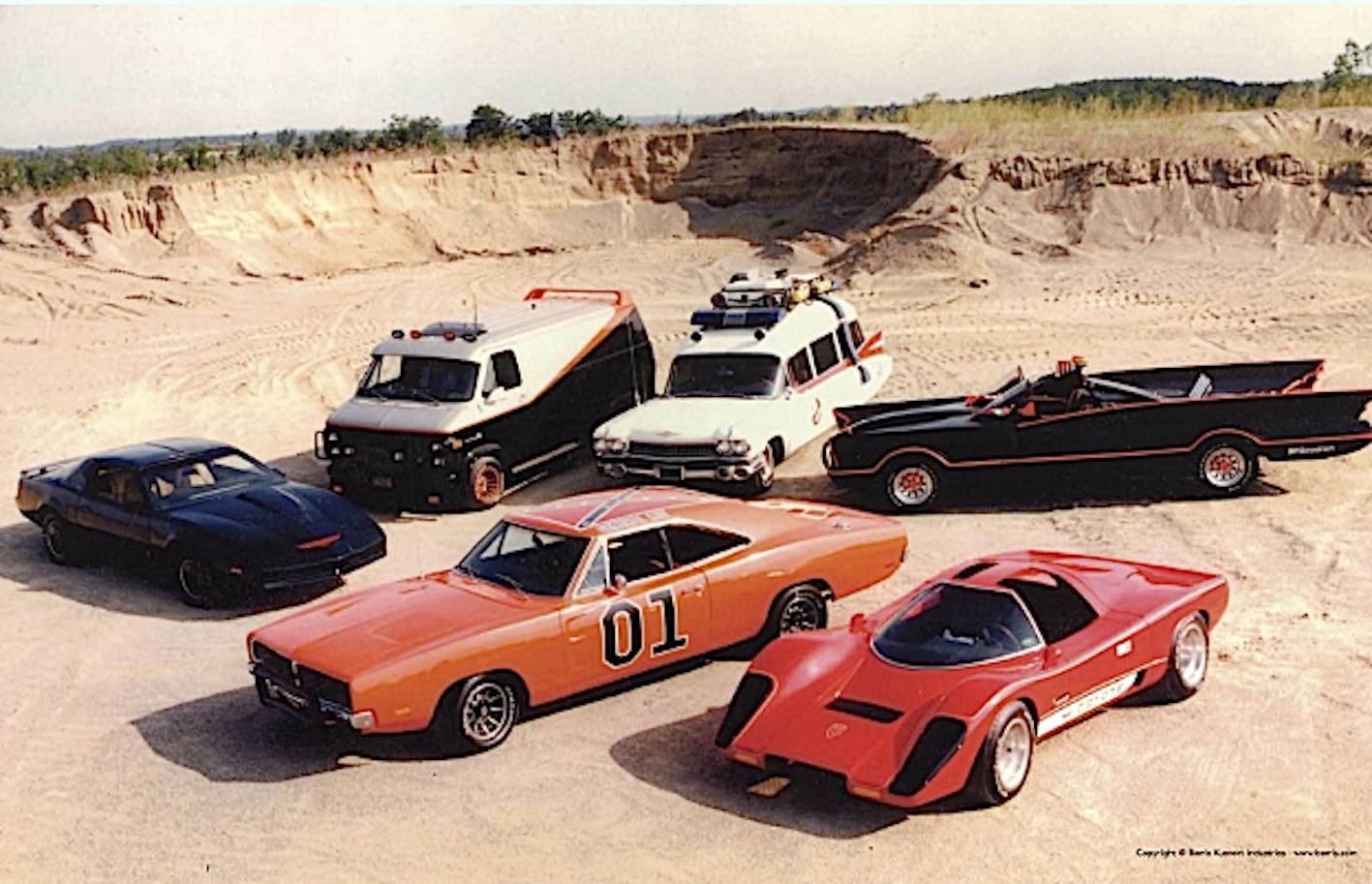 Auto famose serie tv