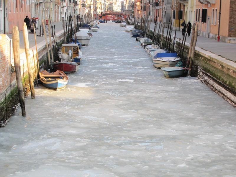 laguna venezia gelata 1985