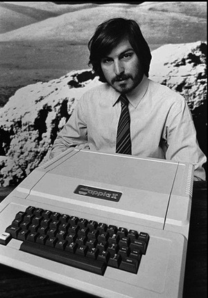 steve-jobs apple II