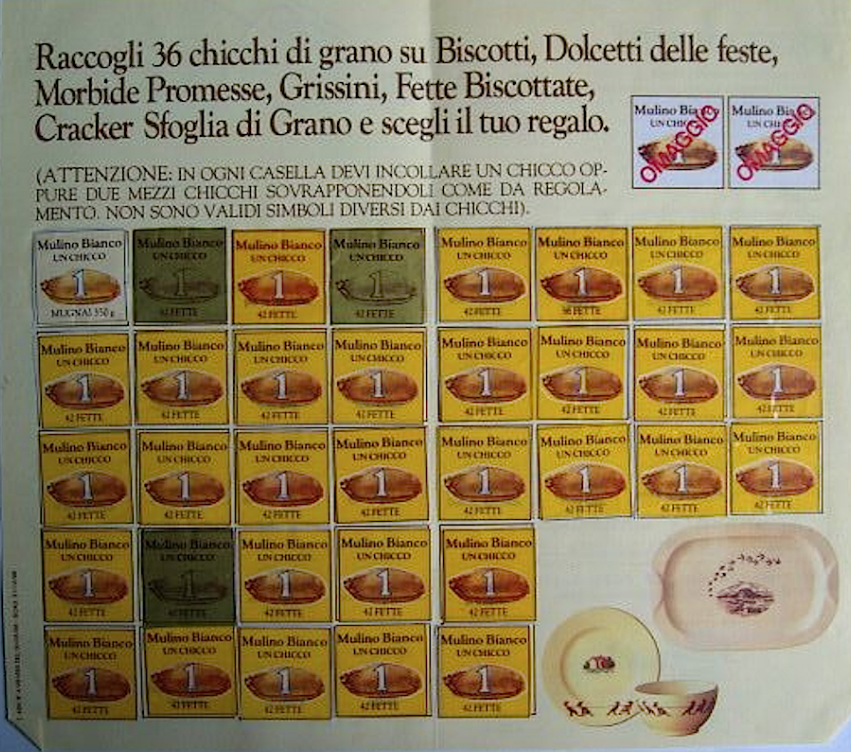 Mulino bianco nasce il marchio 1975 anni 70 passato for Da dove proviene il grano della barilla