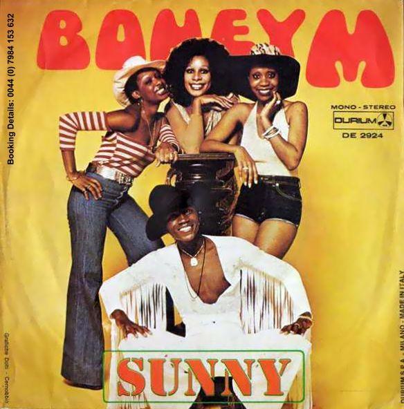 sunny boney m 1975 copertina