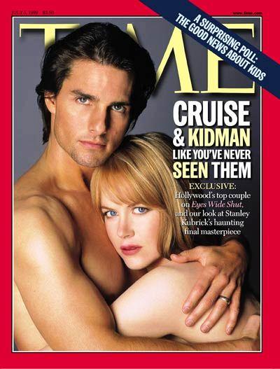 tom cruise time copertina