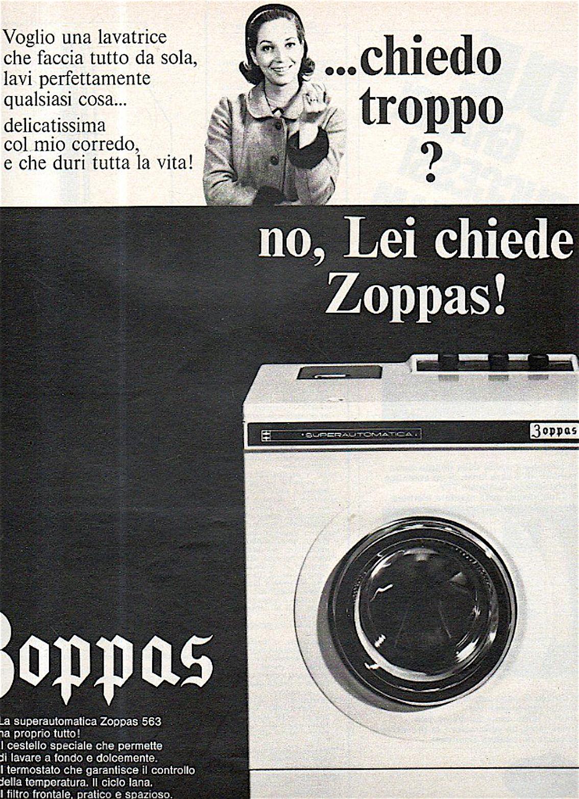 Zoppas li fa nessuno li distrugge carosello 70 - Immagini di elettrodomestici ...