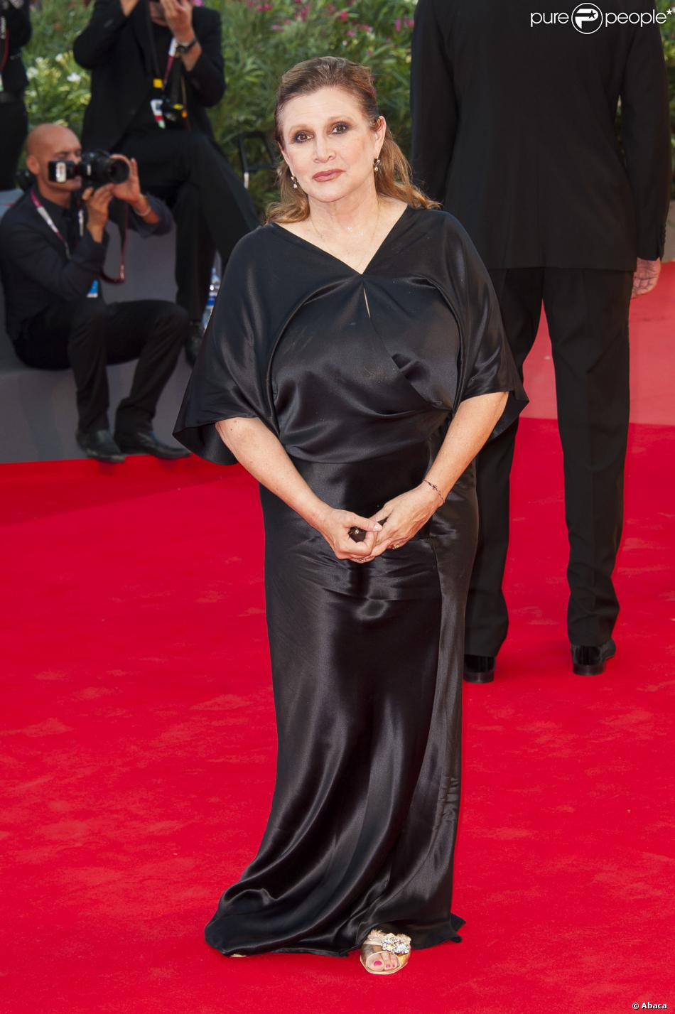 Carrie Fischer nel 2013