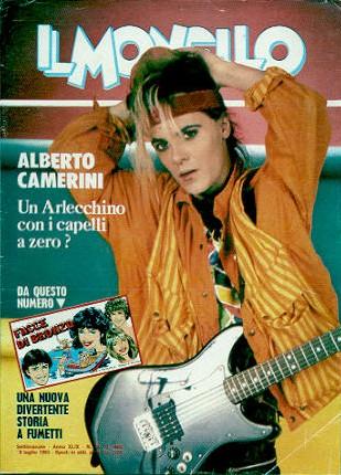 Alberto Camerini copertina il monello