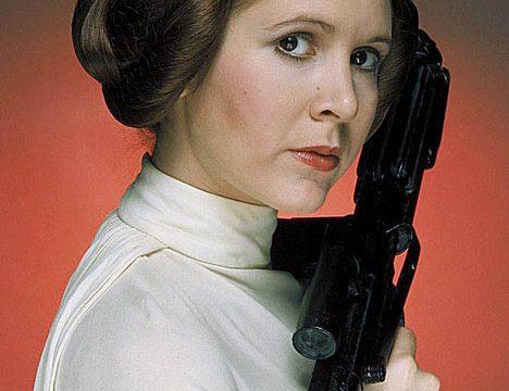 CARRIE FISCHER … addio anche alla Principessa Leila di Guerre Stellari