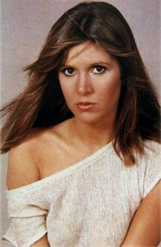 Carrie_Fisher_giovane