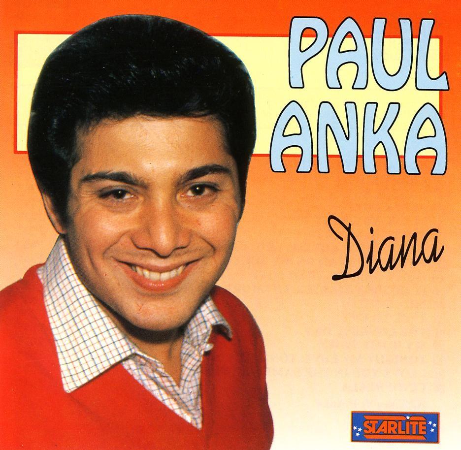 dana paul anka copertina disco