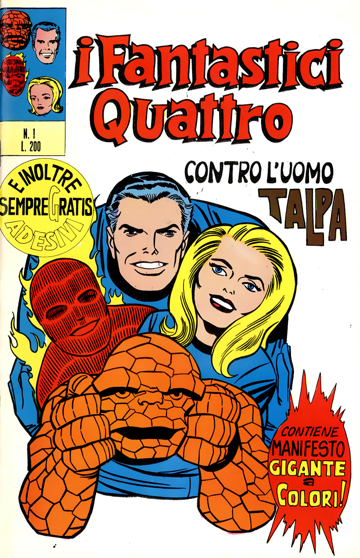 Fantastici Quattro copertina 1