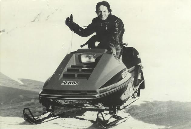 Gilles Villeneuve motoslitta