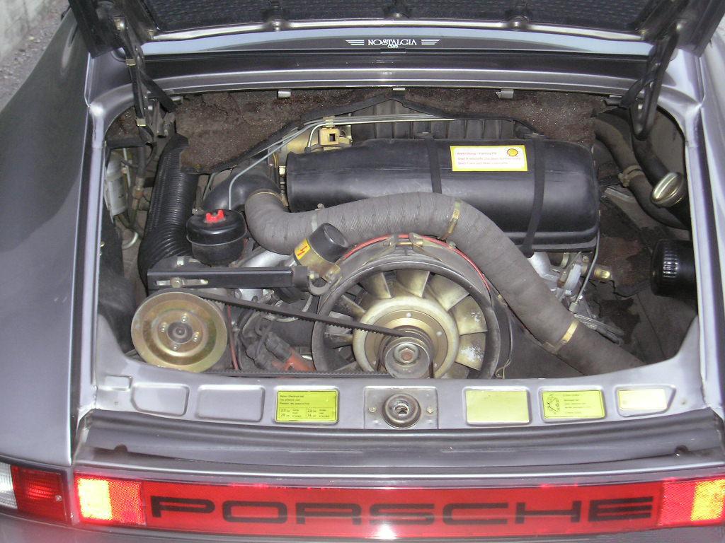 Porsche 911 Giubileo motore