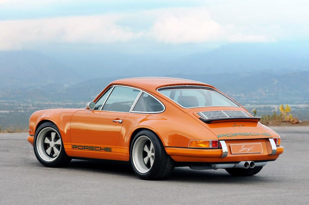 Porsche 911 posteriore