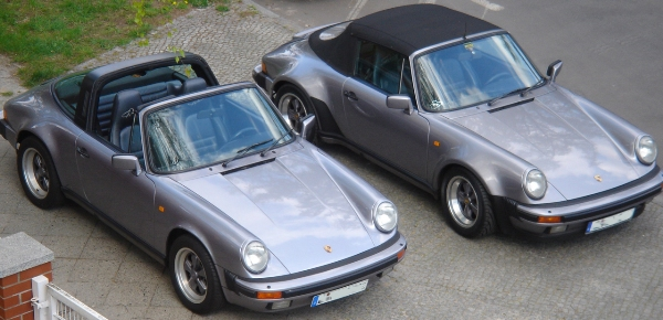 Porsche 911carrera Jubi Targa TL cabrio 1987