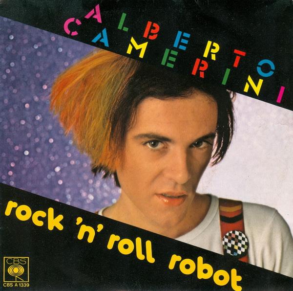 Alberto Camerini Rock n roll robot