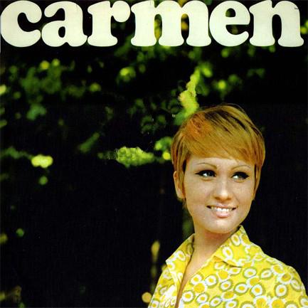 carmen villani 1966 45 giri copertina disco