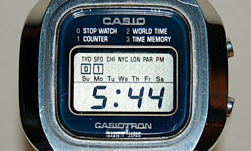 CASIO G-SHOCK – (Dal 1983)