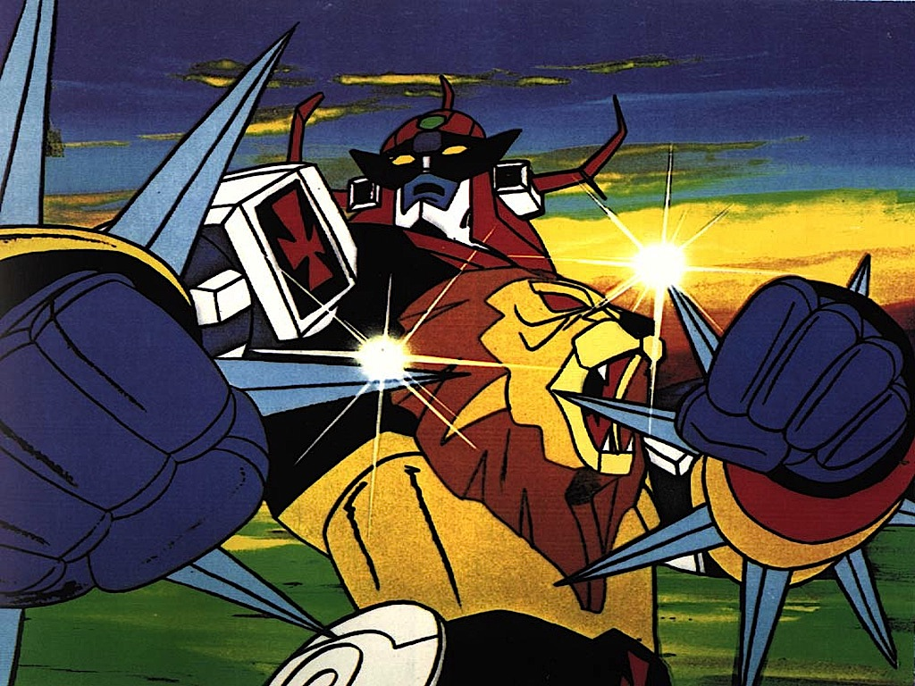 Daltanious anime robot curiosando anni cartoni animati