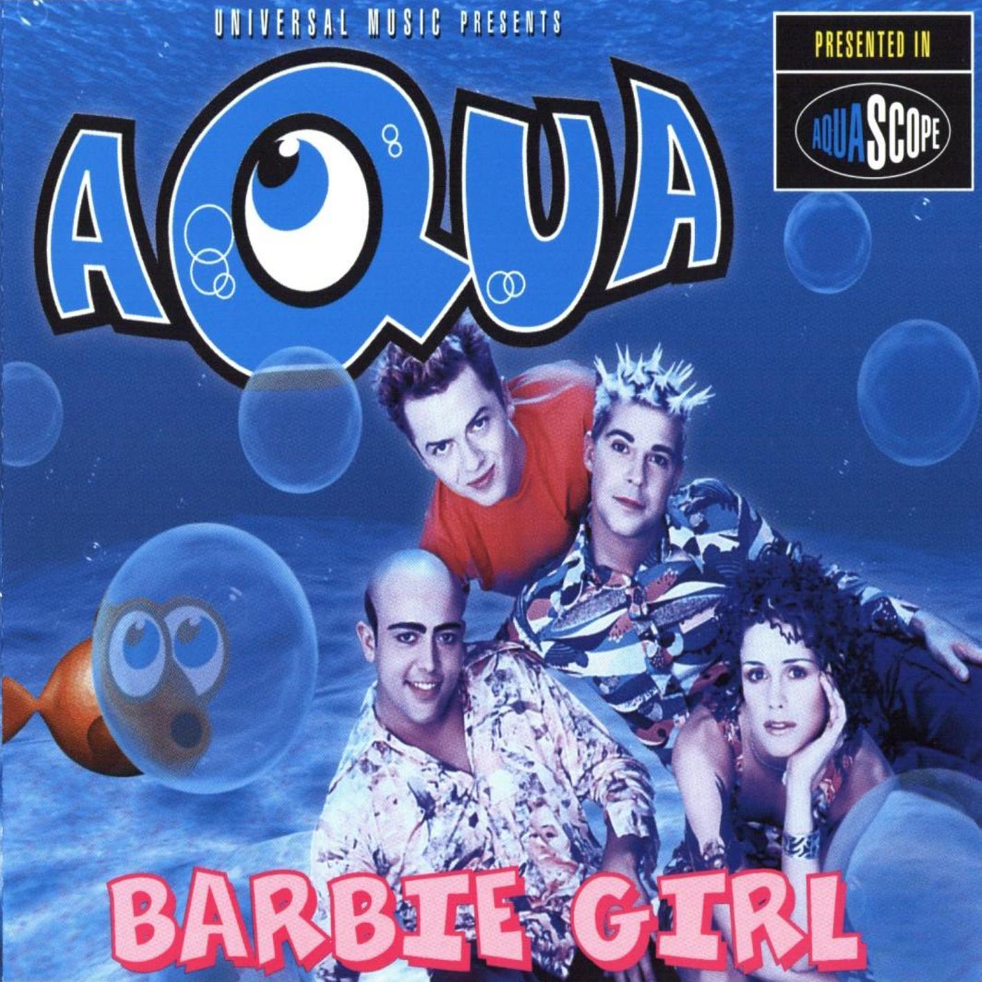 acua barbie girl copertina disco