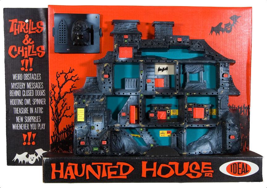 brivido haunted castello incantato gioco scatola