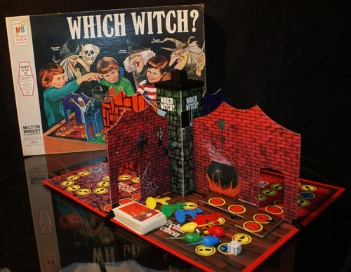 CASTELLO INCANTATO gioco scatola vintage which witch ?