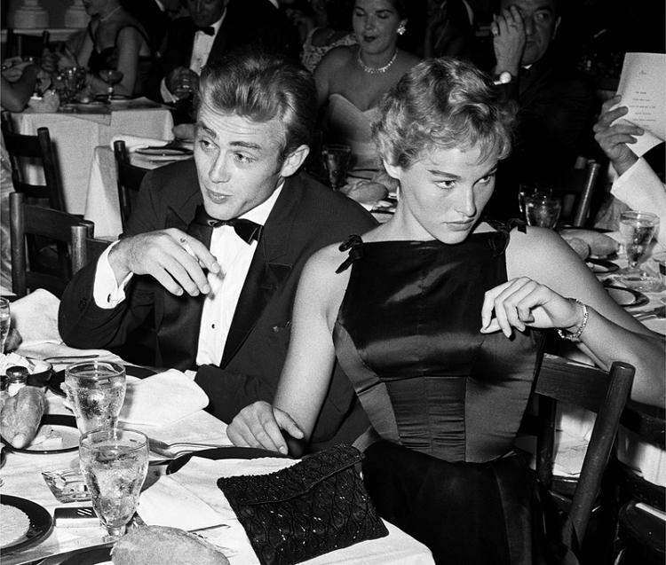 Ursula Andress e James Dean 1955