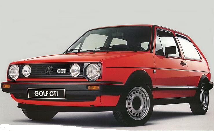 volkswagen golf 1 serie e gti anni 80 auto epocacuriosando negli anni 60 70 80 90. Black Bedroom Furniture Sets. Home Design Ideas