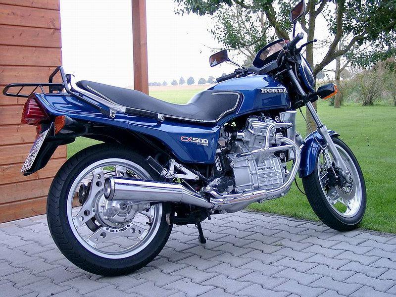 HONDA CX 500 EC EURO SPORT 1982