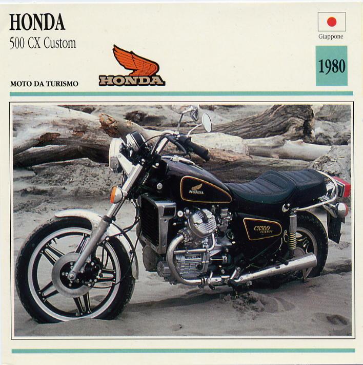 HONDA CX 500 CUSTOM