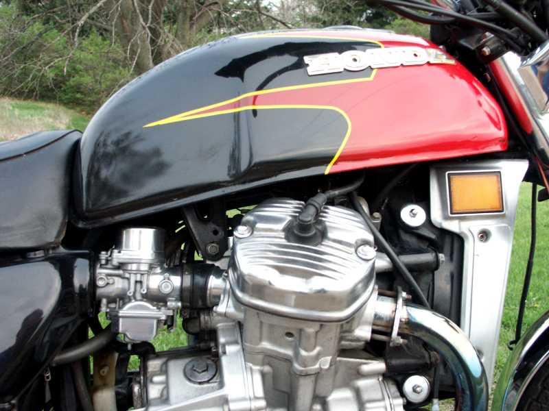 HONDA CX 500 MOTORE