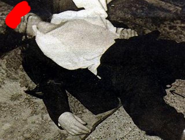 luigi tenco foto morte cadavere