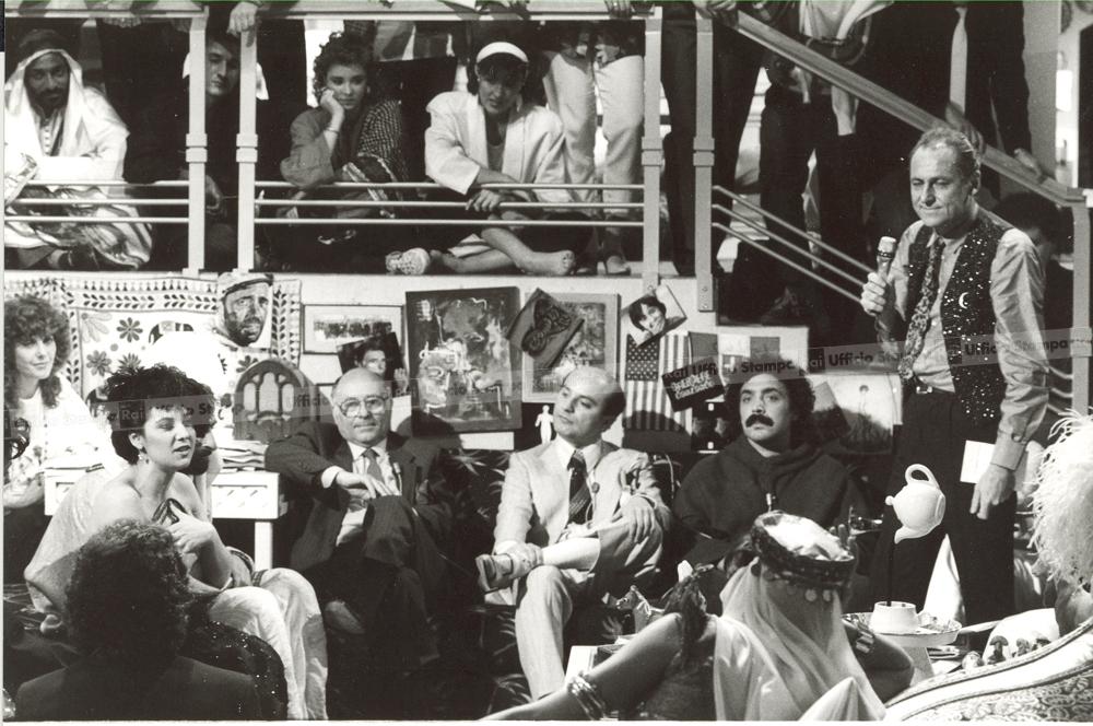 Roma 1985QUELLI DELLA NOTTE: gurppo