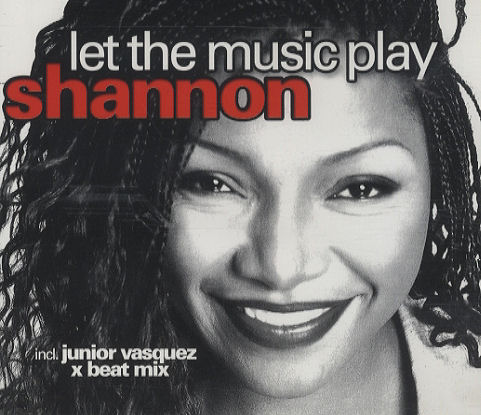 SHANNON LET THE MUSIC PLAY COPERTINA 1983