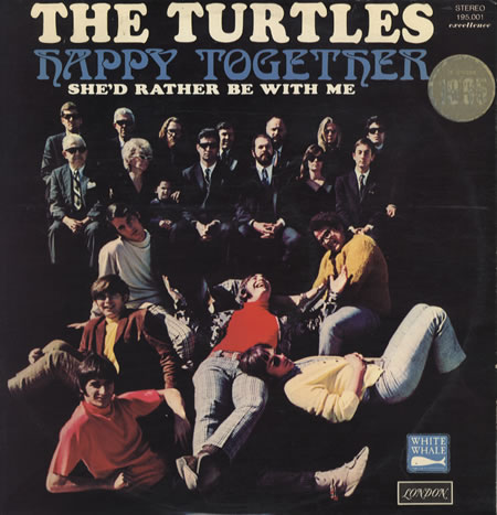 The Turtles happy together copertina