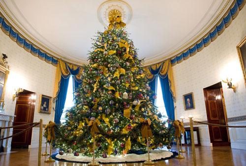 albero di natale obama