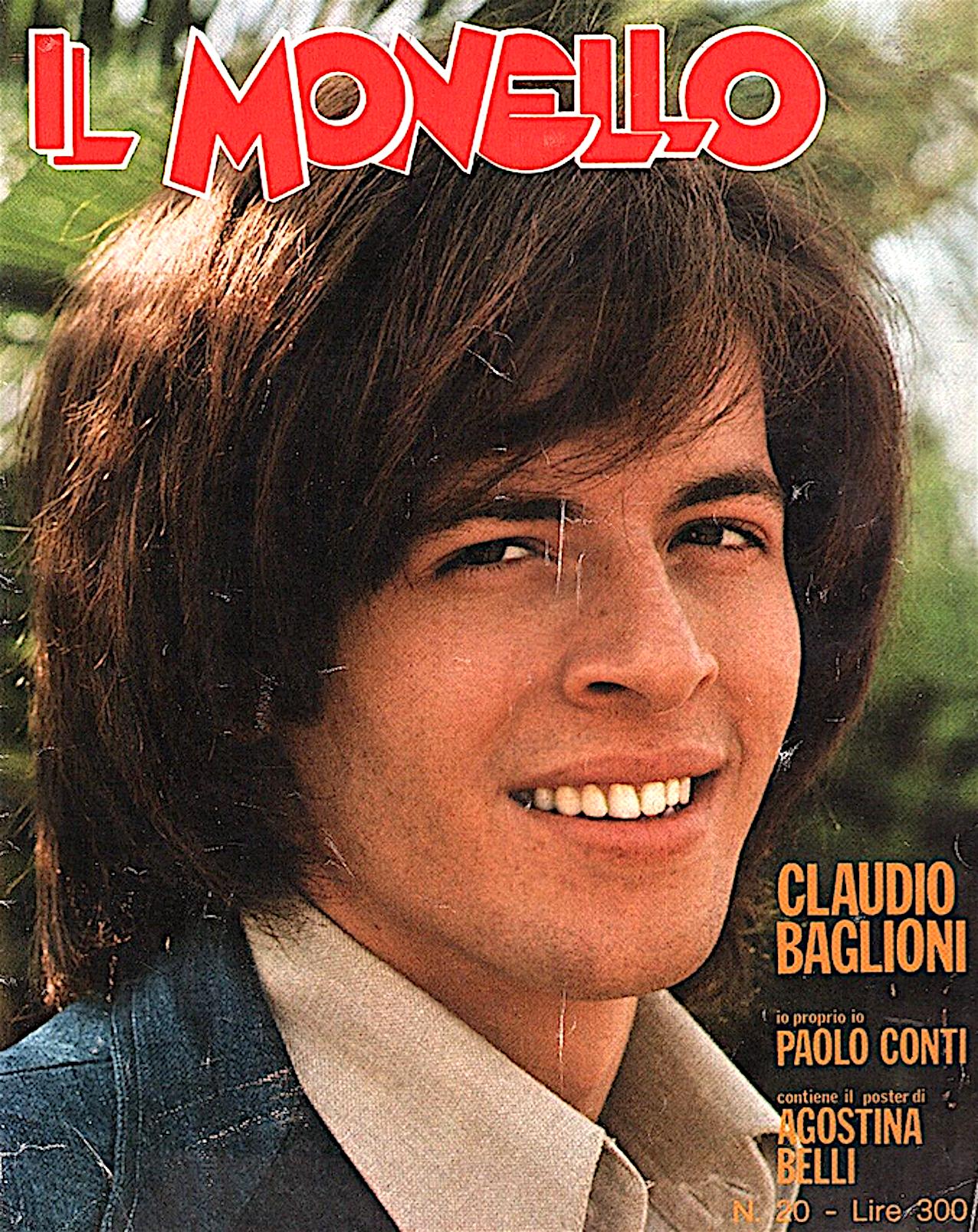 claudio baglioni il monello 1976