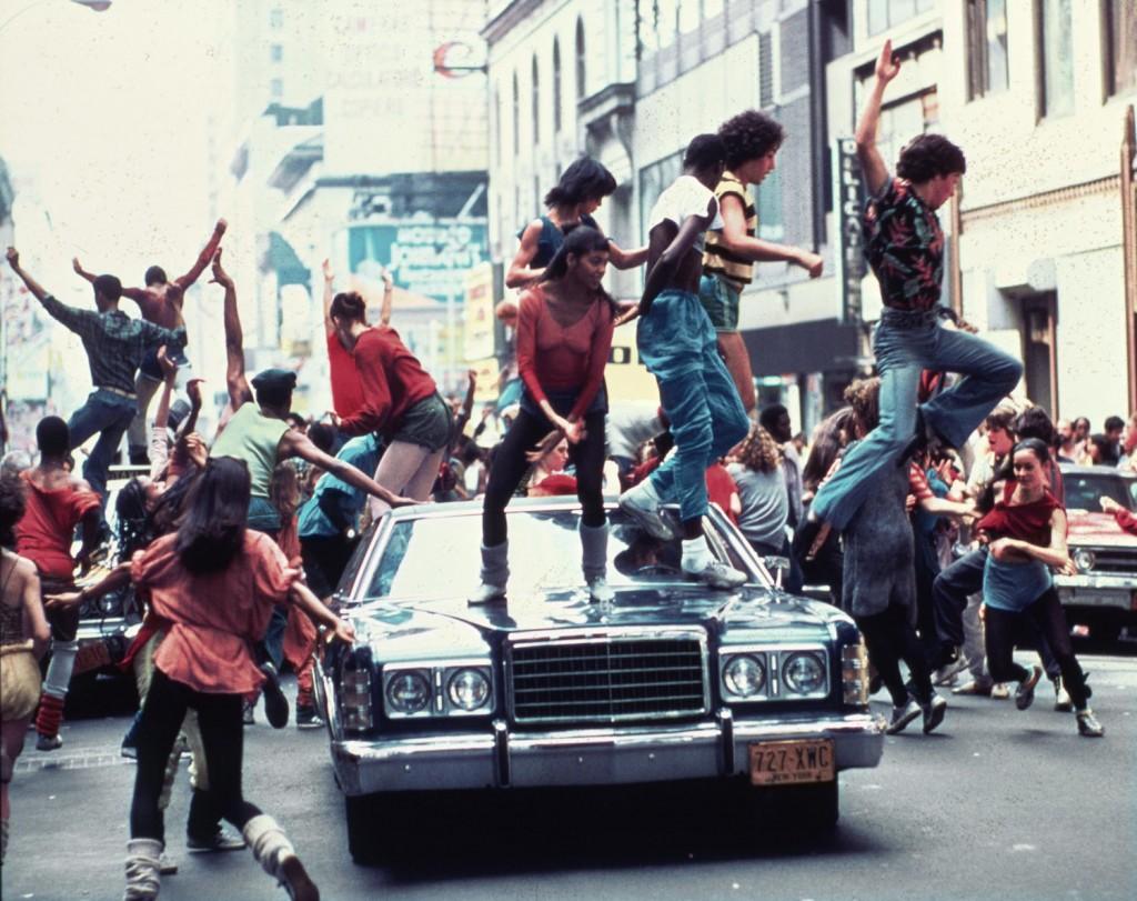 irene cara scena film fame saranno famosi 1980
