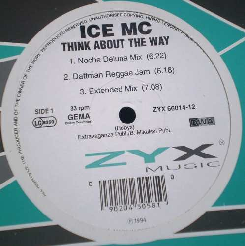 ice mc think about the way